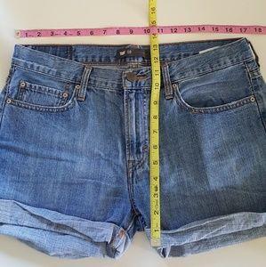 Levi's Shorts - LEVI'S HIGH WAISTED MEDIUM WASH JEAN SHORTS